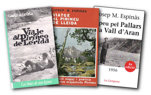 Books by Camilo José Cela and Josep Maria Espinàs